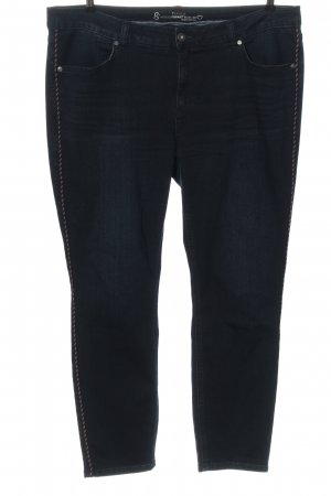 Bonita Slim Jeans blue striped pattern casual look