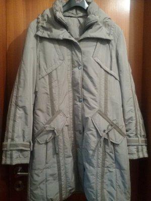 Bonita Gewatteerde jas grijs-bruin-beige