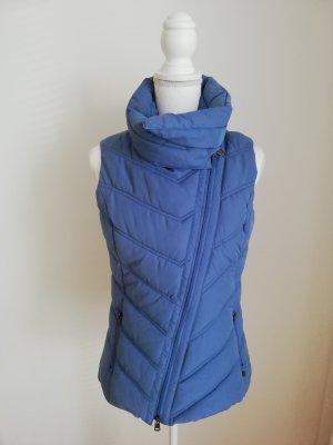 Bonita Steppweste blau in Größe 36