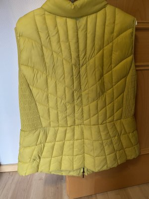Bonita Quilted Gilet lime yellow-yellow