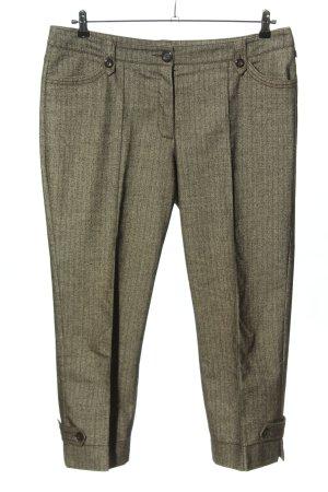 Bonita Jersey Pants black-cream abstract pattern casual look