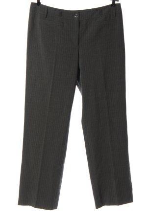 Bonita Jersey Pants light grey-natural white striped pattern casual look