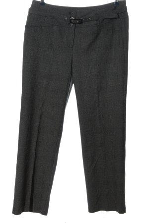 Bonita Jersey Pants light grey weave pattern business style