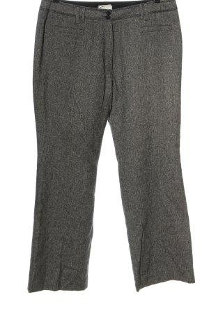 Bonita Jersey Pants white-black striped pattern casual look