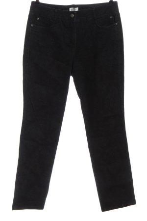 Bonita Jeans a gamba dritta nero stile casual