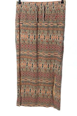 Bonita Stretch Skirt abstract pattern casual look