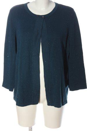 Bonita Cardigan in maglia blu stile casual
