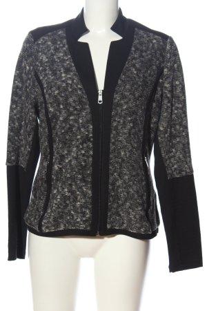Bonita Cardigan in maglia nero-bianco stile casual