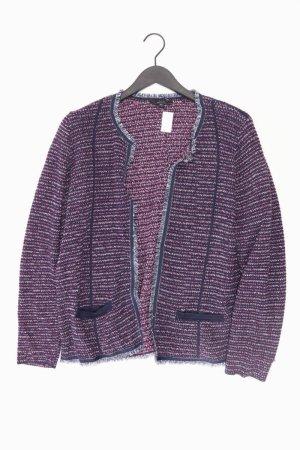 Bonita Cardigan tricotés bleu-bleu fluo-bleu foncé-bleu azur coton