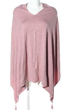 Bonita Strickponcho pink meliert Casual-Look
