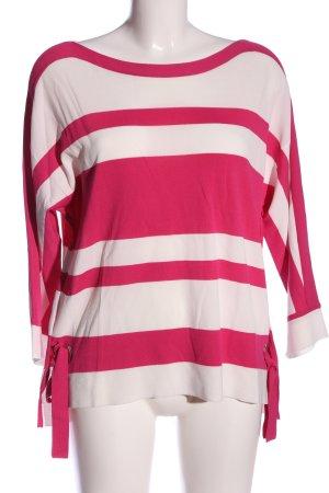 Bonita Strickpullover wollweiß-pink Casual-Look