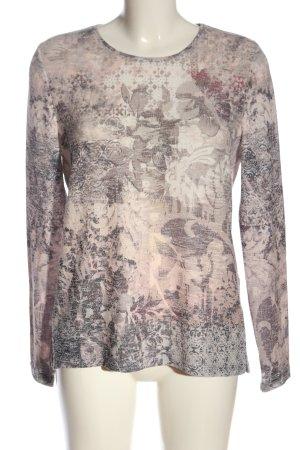 Bonita Pull tricoté imprimé allover style décontracté