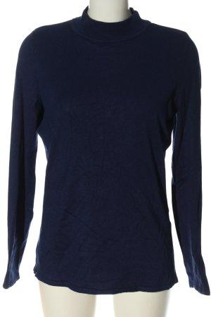 Bonita Pull tricoté bleu style décontracté