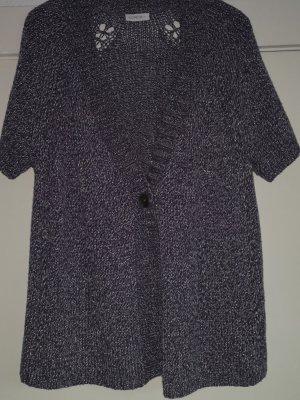 Bonita Cardigan a maniche corte viola-grigio Poliestere
