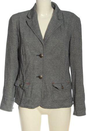 Bonita Blazer sweat grigio chiaro puntinato stile casual