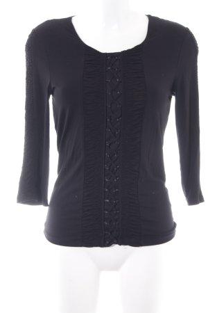 Bonita Sweatshirt schwarz extravaganter Stil