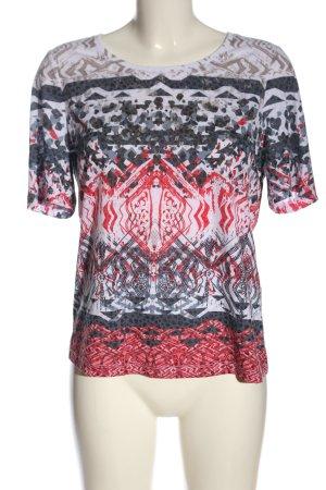 Bonita T-shirt motif abstrait style décontracté