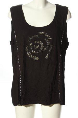 Bonita T-Shirt braun Motivdruck Casual-Look