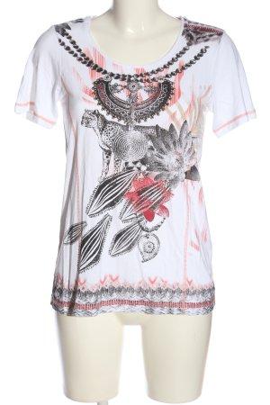 Bonita T-Shirt Motivdruck Casual-Look