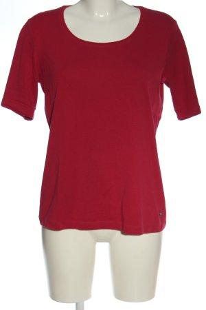 Bonita T-shirt rosso elegante