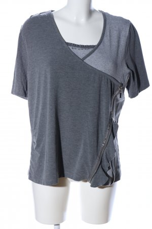 Bonita T-Shirt hellgrau meliert Casual-Look