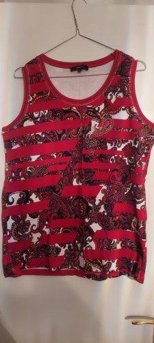 Bonita T-shirt rosso neon-magenta