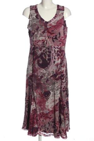 Bonita Trägerkleid pink-hellgrau abstraktes Muster Casual-Look