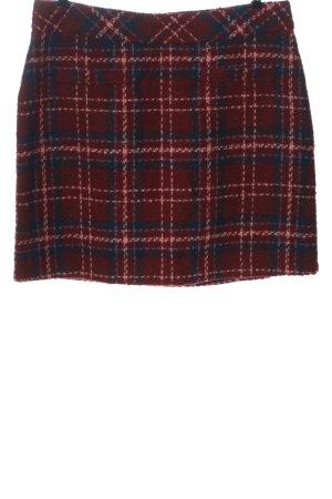 Bonita Tweed rok geruite print casual uitstraling
