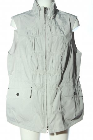 Bonita Sports Vests light grey-white striped pattern casual look
