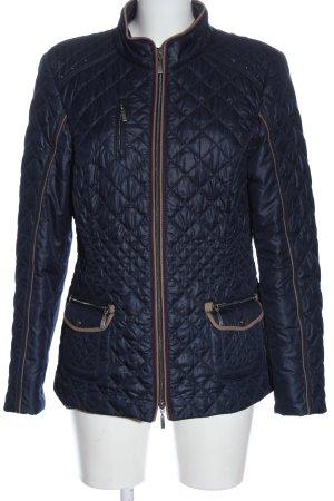 Bonita Between-Seasons Jacket blue quilting pattern casual look