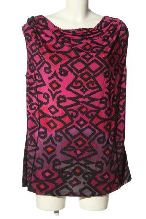 Bonita Waterval shirt abstract patroon casual uitstraling