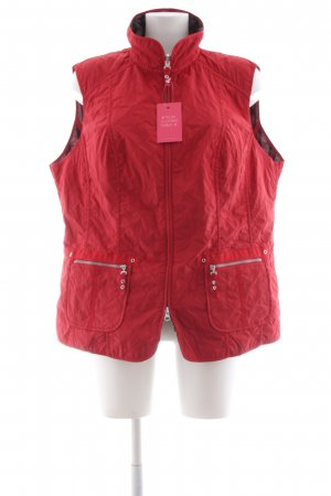 Bonita Reversible Vest red casual look