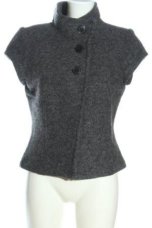 Bonita Wool Jacket light grey flecked casual look