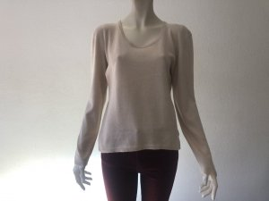 BONNIE Cashmere-Silk-Pullover hellbeige XL Top!