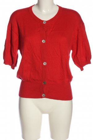 Bonnie Short Sleeve Sweater red casual look
