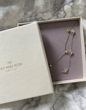 BONNIE PEARL NECKLACE – IVORY von Lily and Rose