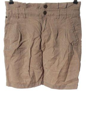 bonobo jeans Mini-jupe brun style décontracté
