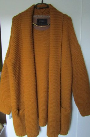 bonobo jeans Coarse Knitted Sweater ocher-dark yellow