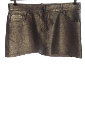 Bonpoint Spódnica mini brąz Błyszczący
