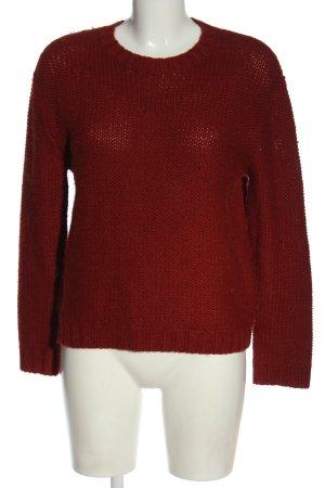 Bonpoint Sweter z dzianiny czerwony W stylu casual