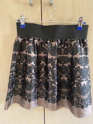 Bon Prix Flared Skirt rose-gold-coloured-black
