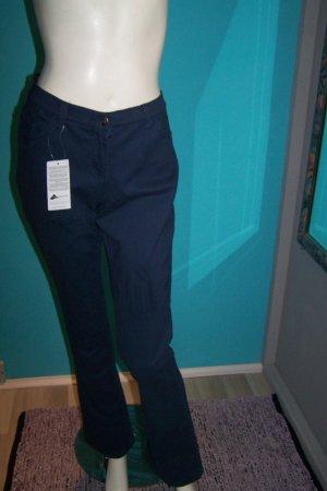 bpc bonprix collection Spodnie ze stretchu niebieski