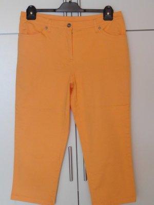 b.p.c. Bonprix Collection Pantalone a 3/4 arancione Cotone