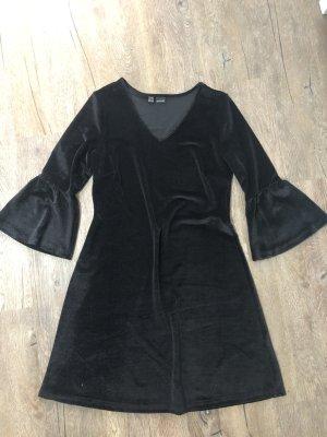 bpc bonprix collection Sukienka z falbanami czarny