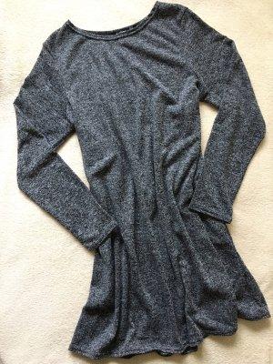 boogoo A-Linie Kleid meliert schwarz grau Gr. 38
