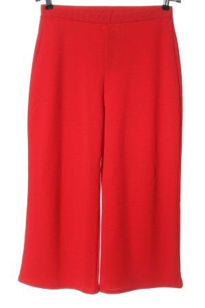 Boohoo Pantalone largo rosso stile casual