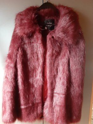 Boohoo Cape bordeaux