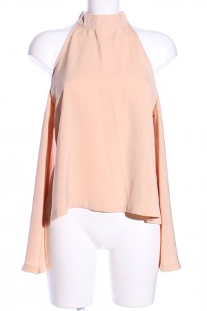Boohoo Cut-Out-Top nude Casual-Look