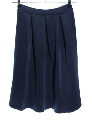 Boohoo Plaid Skirt blue casual look