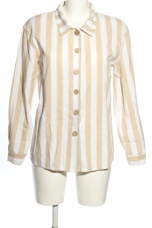 Boohoo Blouse-chemisier crème-blanc motif rayé style décontracté